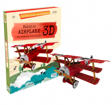 Construct & Learn - 3D Airplane Model